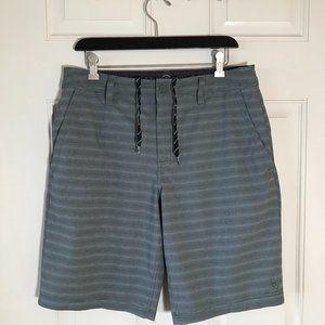 Hang Ten Shorts Grey Pinstripe ~ Size 32